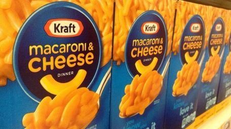 More than 240,000 cases of Kraft Macaroni &