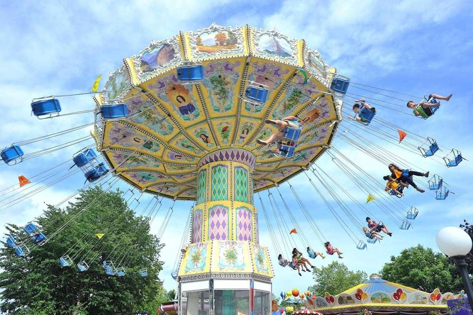 With more than 20 rides, including roller coasters,