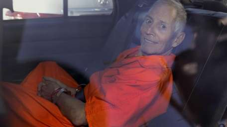 Robert Durst is transported from Orleans Parish Criminal