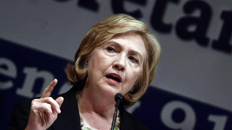 Hillary Clinton's charity donors are in question.