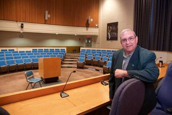 Huntington Town Supervisor Frank Petrone in the town