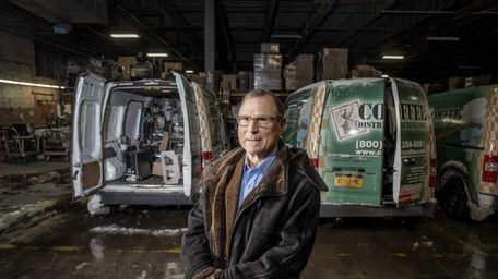 Bob Friedman, president of Coffee Distributing Corp., at