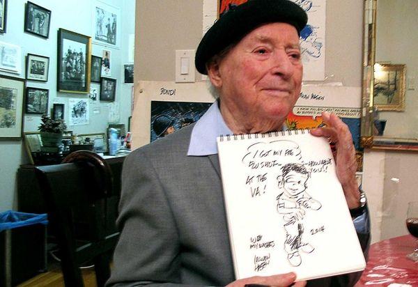 Irwin Hasen, 96, who drew