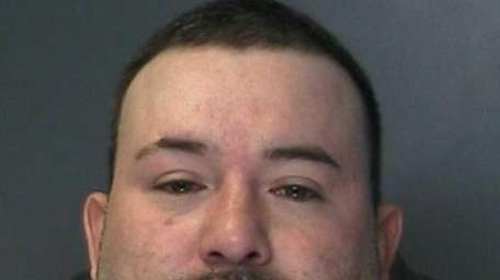 Mauricio Zamora, 40, of Ronkonkoma, was arrested Saturday,