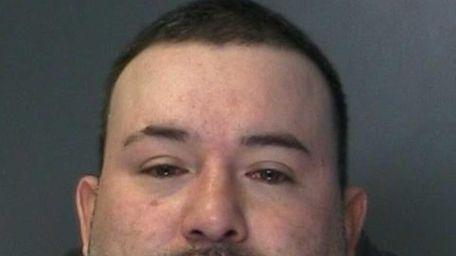 Mauricio Zamora, 40, of Ronkonkoma, was arrested Saturday,