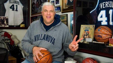 Chuck Everson, member of the 1985 Villanova NCAA