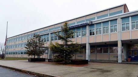 Lawrence High School in Cedarhurst is shown on