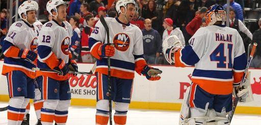 Jaroslav Halak of the New York Islanders is