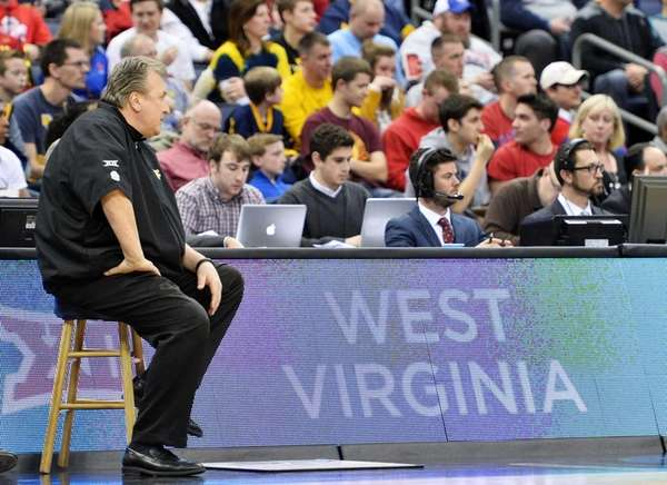 Head coach Bob Huggins of the West Virginia