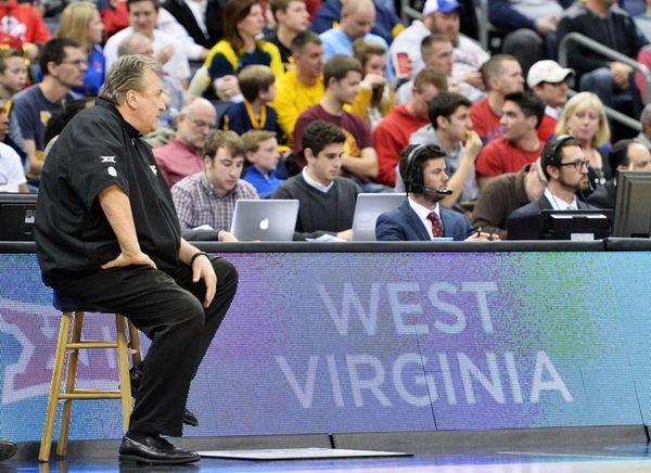 Head coach Bob Huggins of the West Virginia