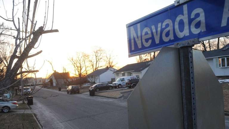 Nevada Avenue in Bay Shore on March 23,