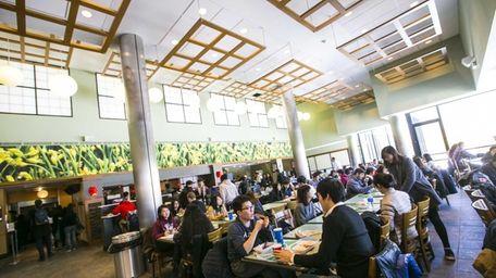The Wang Center at Stony Brook University has