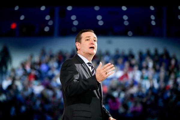 Sen. Ted Cruz (R-Texas) announces that he is