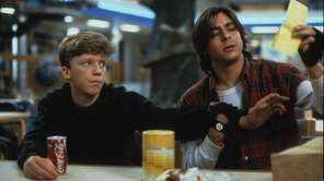 Anthony Michael Hall, left, and Judd Nelson star