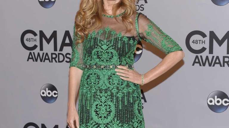 Connie Britton arrives at the 48th annual CMA