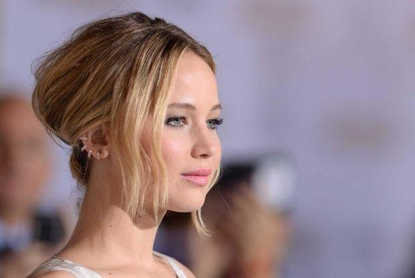 Jennifer Lawrence arrives for the Los Angeles premiere