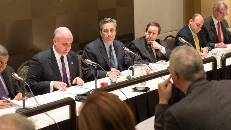 Members of the Nassau County Interim Finance Authority,