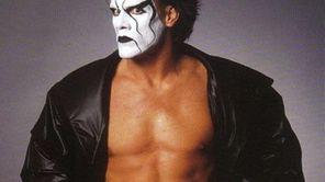 The Vigilante Sting, shown here in a WCW
