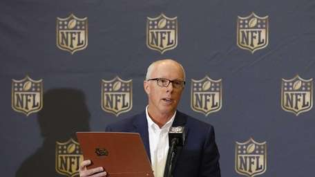 Atlanta Falcons president and CEO Rich McKay answers