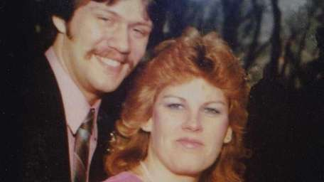 Richard and Laura Lang on their wedding day,