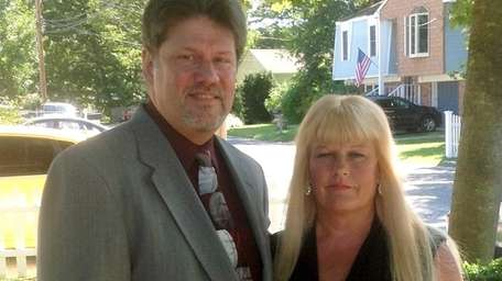 Richard and Laura Lang of Holbrook in a
