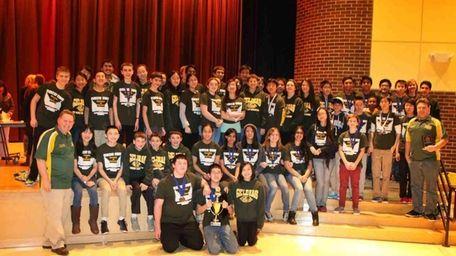 A team from Paul J. Gelinas Junior High