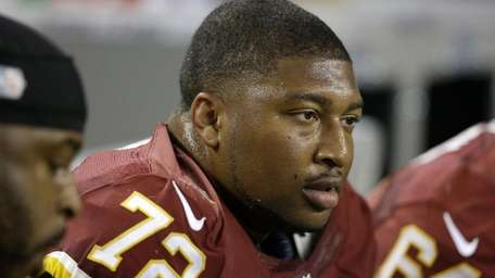 Washington Redskins defensive end Stephen Bowen during the