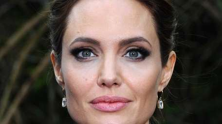 Angelina Jolie announced in an op-ed in The