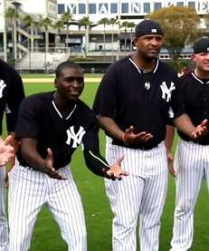 """The Yankees reenacted a scene from """"The Sandlot"""""""