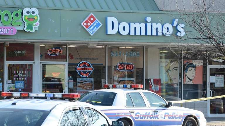 Police said the robber entered the restaurant at
