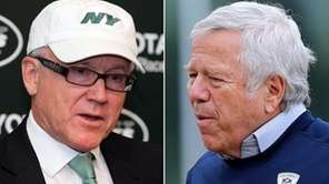 Jets owner Woody Johnson and Patriots owner Robert