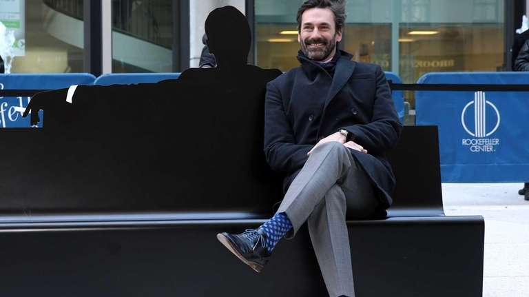 Jon Hamm, star of AMC's