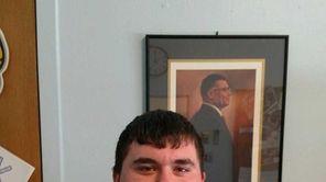Augie Cavallaro, 17, a senior at Carle Place