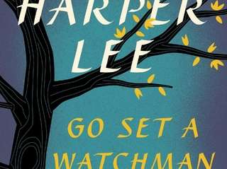 "This book cover, released by HarperCollins, shows ""Go"