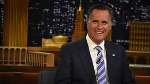 "Mitt Romney Visits ""The Tonight Show Starring Jimmy"