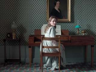 "Still of Birte Schnoeink as Henriette, in ""Amour"