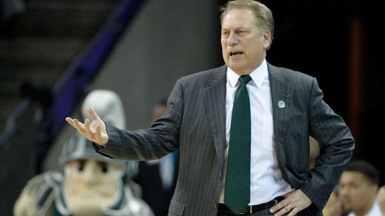 Head coach Tom Izzo of the Michigan State