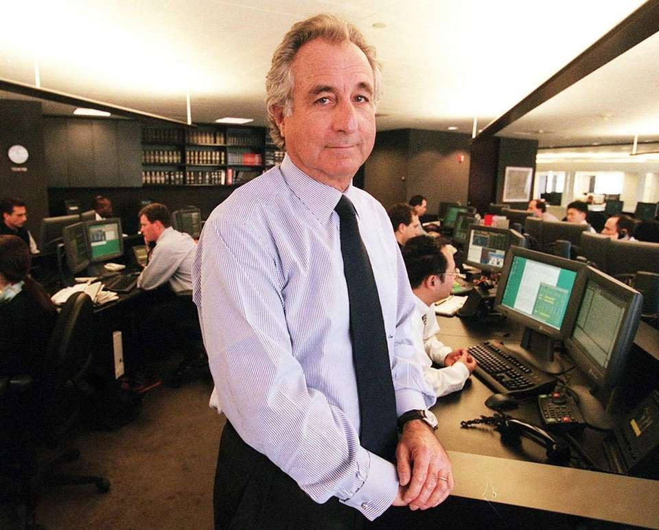 In December 2008, 70-year-old Wall Street investor and