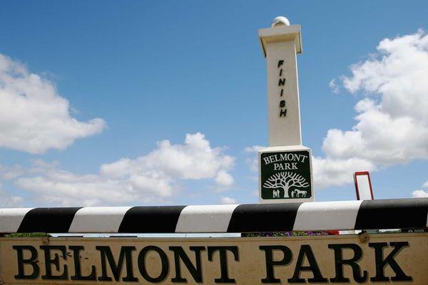 Belmont Park in Elmont on June 6, 2014.