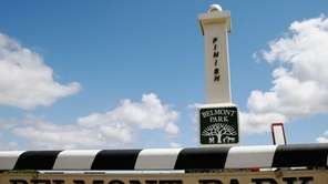 Belmont Park in Elmont on June 6, 2014.