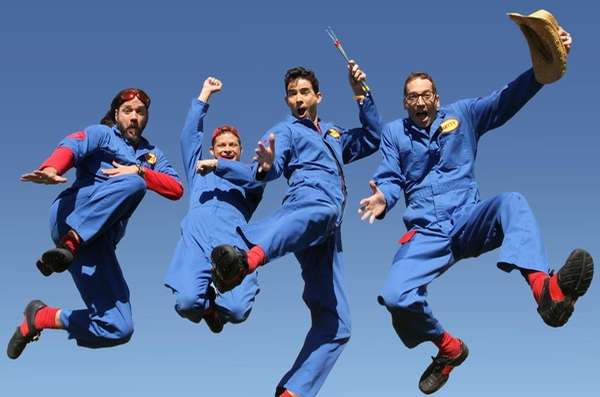 Kids can rock out with the Imagination Movers,