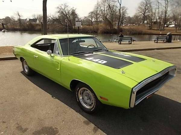 This 1970 Dodge Charger owned by Alan Stewart