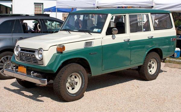 A 1979 Toyota Land Cruiser.