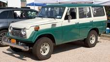 A 1979 Toyota Land Cruiser.