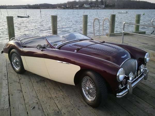 This 1954 Austin-Healey 100-4 BN1 LeMans owned by