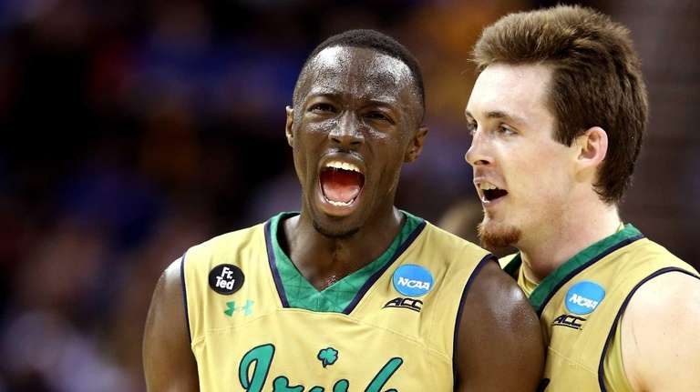 Jerian Grant of the Notre Dame Fighting