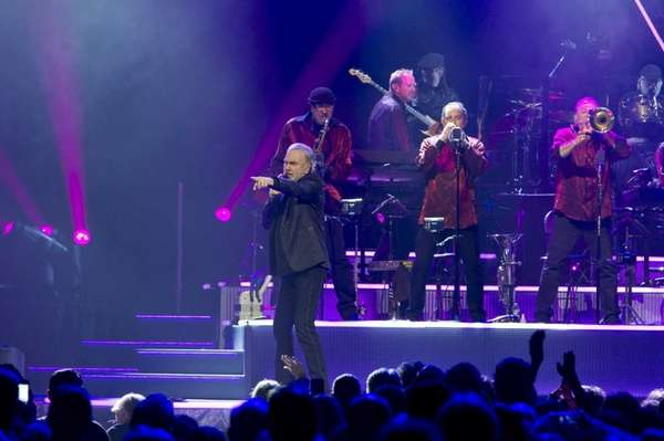 Neil Diamond performs at the Barclays Center in