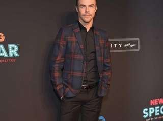 Derek Hough attends the 2015 New York Spring