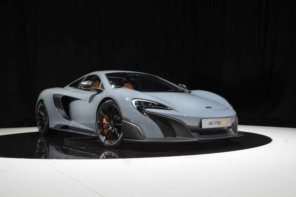 The 2016 McLaren 675LT will appear at the