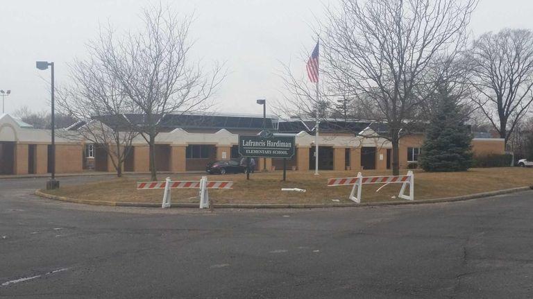 Exteior of the LaFrancis Hardiman Elementary School on